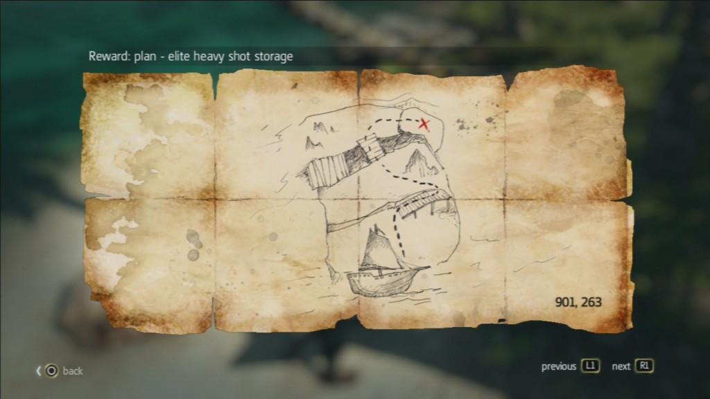نقشه های گنج اساسین کرید بلک فلگ