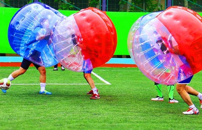 فوتبال حبابی برند کاپ (سعادت آباد)