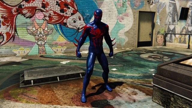 تمام لباس هایمرد عنکبوتی PS4