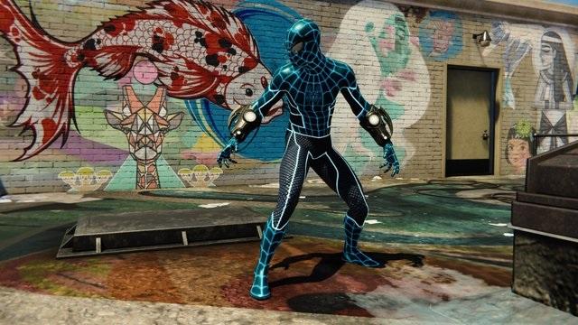 تمام لباس های بازی مرد عنکبوتی Ps4 مستر گیمرز Mrgamers