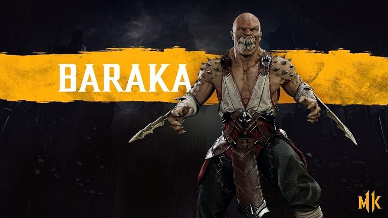 شخصیت باراکا (Baraka)