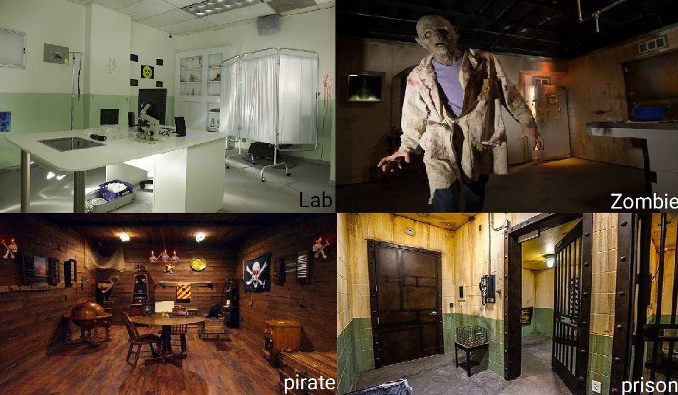 بازی اتاق فرار escape room
