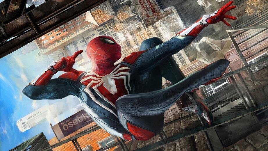 مرد عنکبوتی PS4