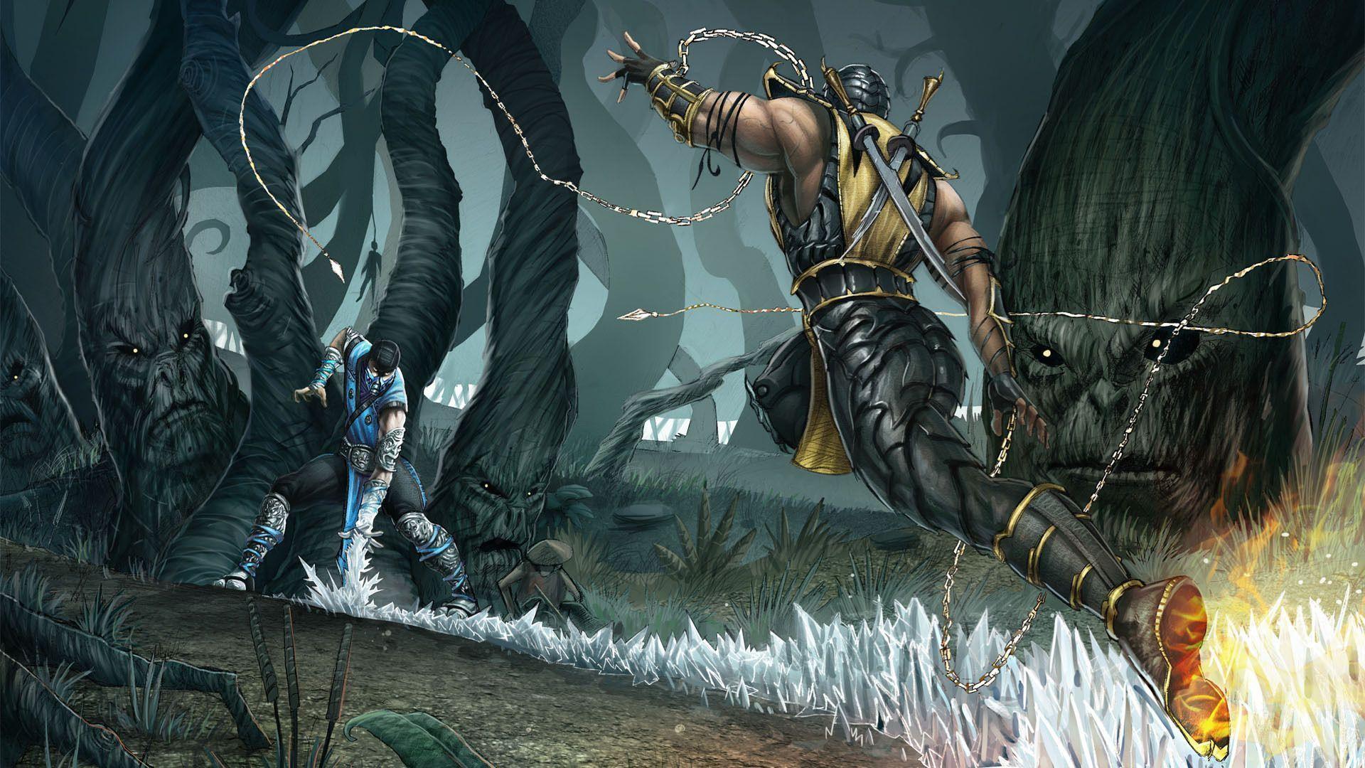 بازی مورتال کمبت 9 (Mortal Kombat 2011)