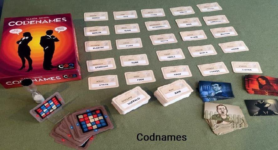 ازی رومیزی کدنیمز codenames