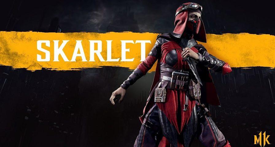 شخصیت اسکارلت (Skarlet) در مورتال کمبت