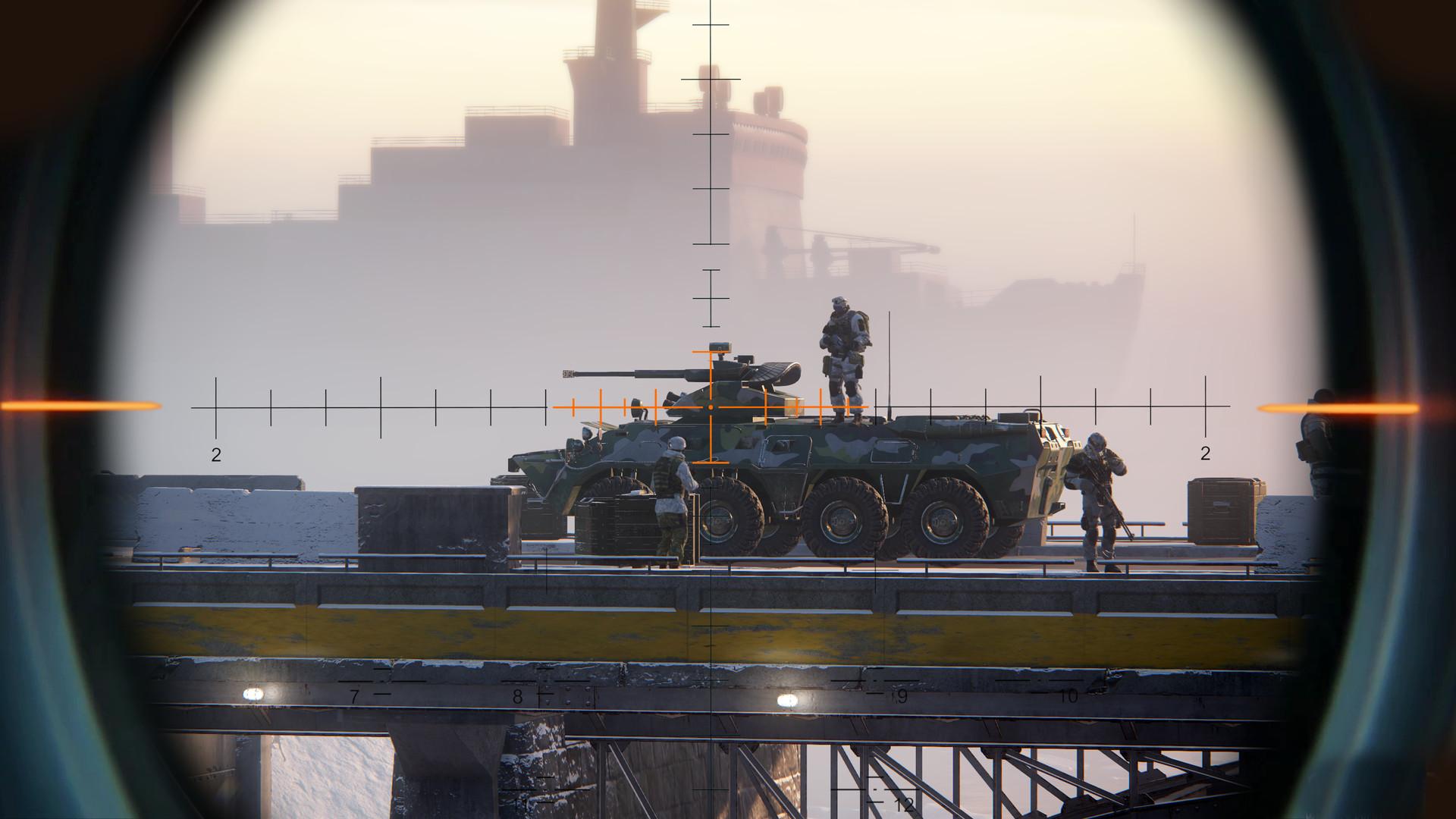 بازی Sniper Ghost Warrior Contracts