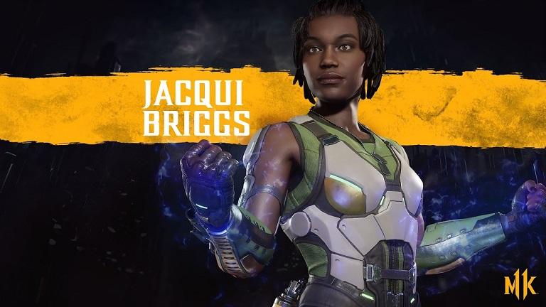 شخصیت جاکی بریگز (Jacqui Briggs) در مورتال کمبت