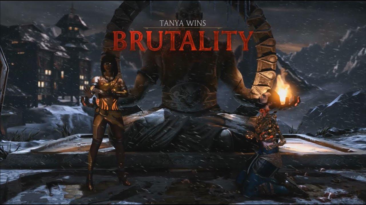 بروتالیتی های مورتال کمبت ۱۰ (Mortal Kombat x Brutality)