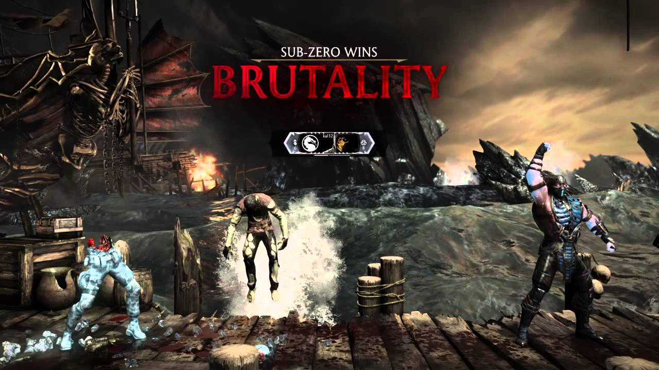 بروتالیتی های مورتال کمبت 10 (Mortal Kombat x Brutality)