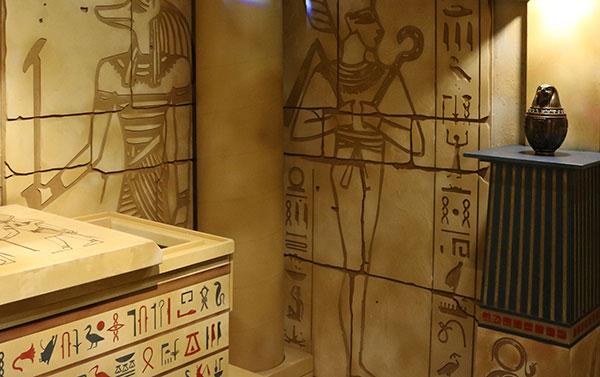 بازی فرار از اتاق های مهیج در مجموعه باغ کتاب تهران