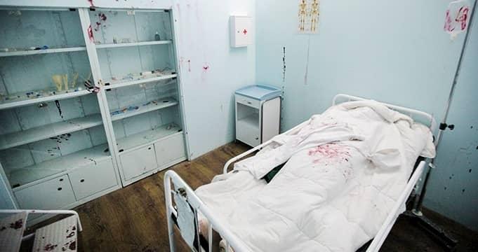 اتاق فرار بیمارستان زامبی تهران