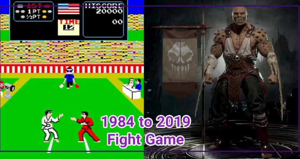 بهترین بازی های مبارزه ای از 1984 تا 2019