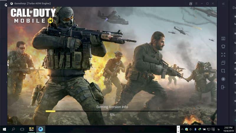 بازی Call of Duty موبایل روی کامپیوتر