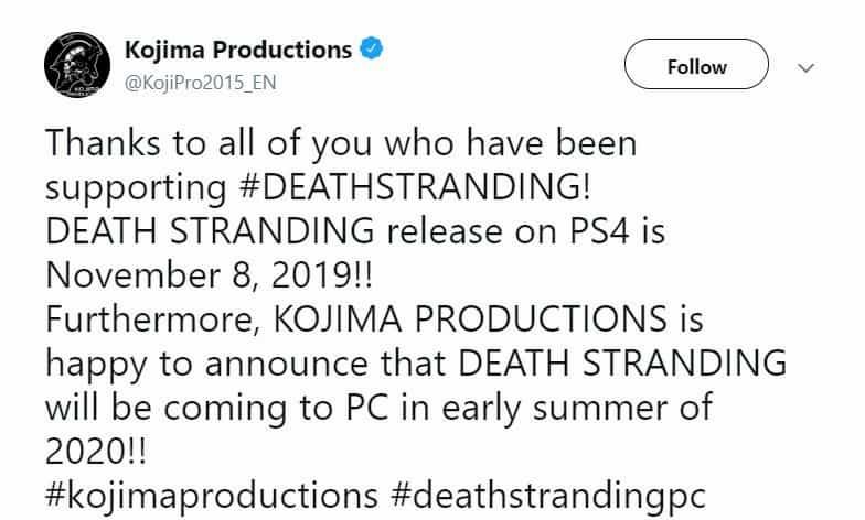 بازی Death Stranding برای کامپیوتر