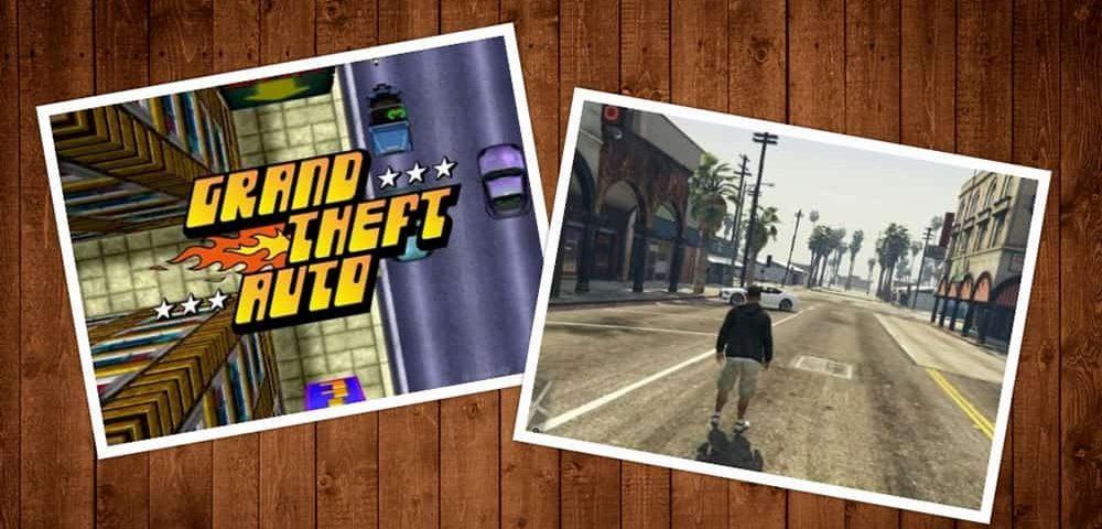 تکامل بازی GTA از ۱۹۹۷ تا ۲۰۱۸