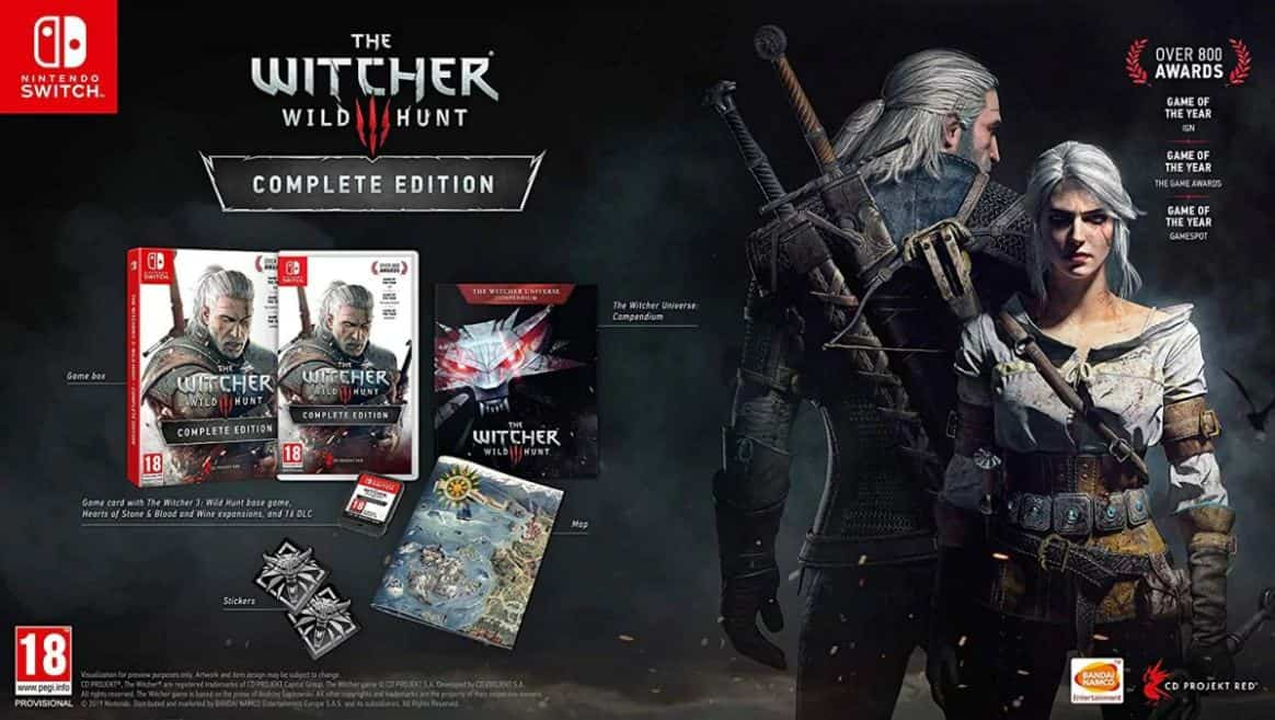 The Witcher 3 برای Switch