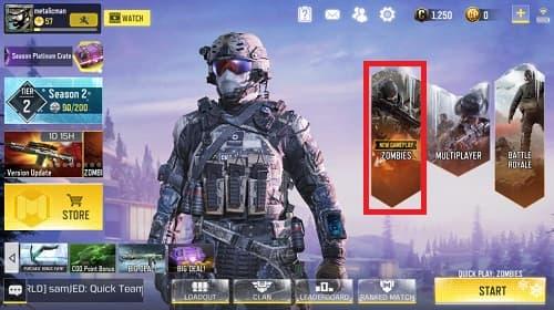 راهنمای Call of Duty Mobile مود زامبی