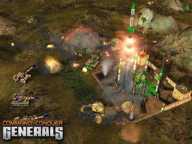 بازی Command & Conquer Generals