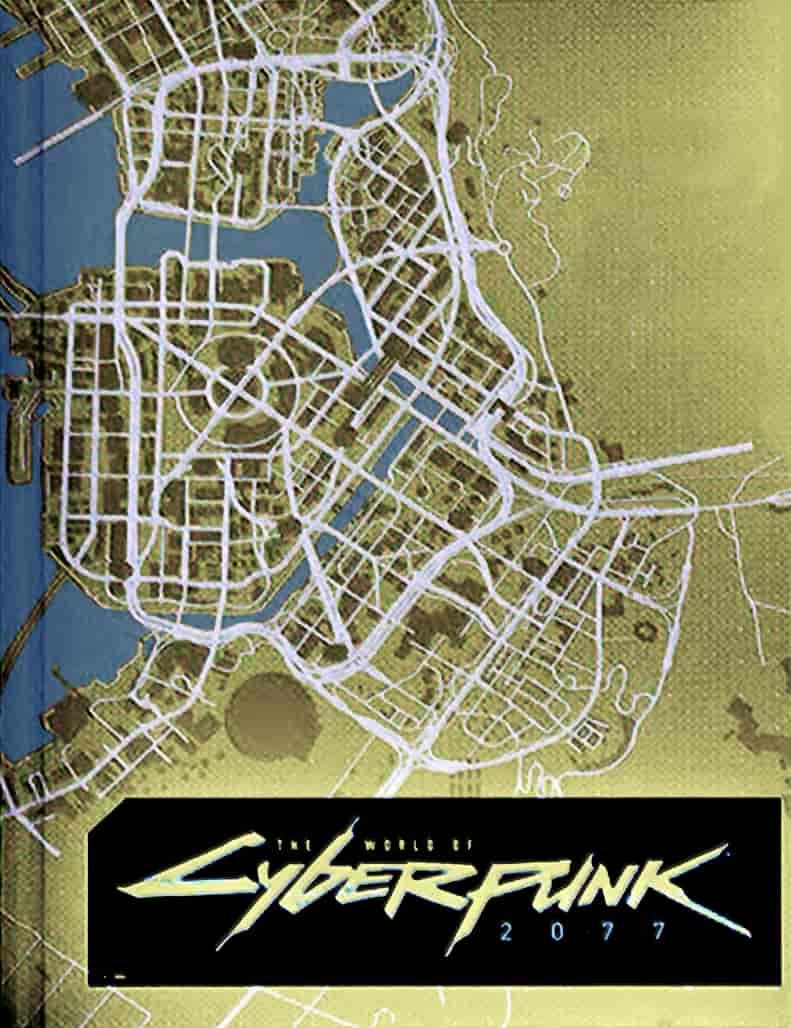فاش شدن نقشه بازی Cyberpunk 2077