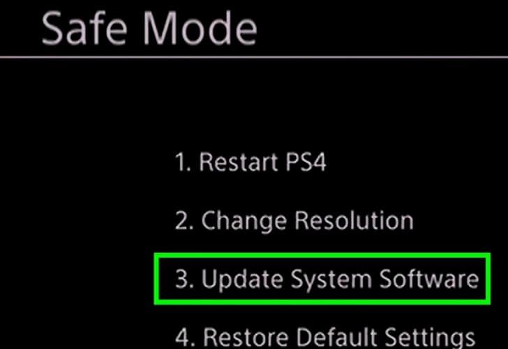 روش آپدیت PS4 بدون اتصال به اینترنت