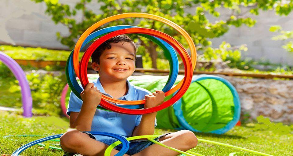بازی کودکانه حلقه برون