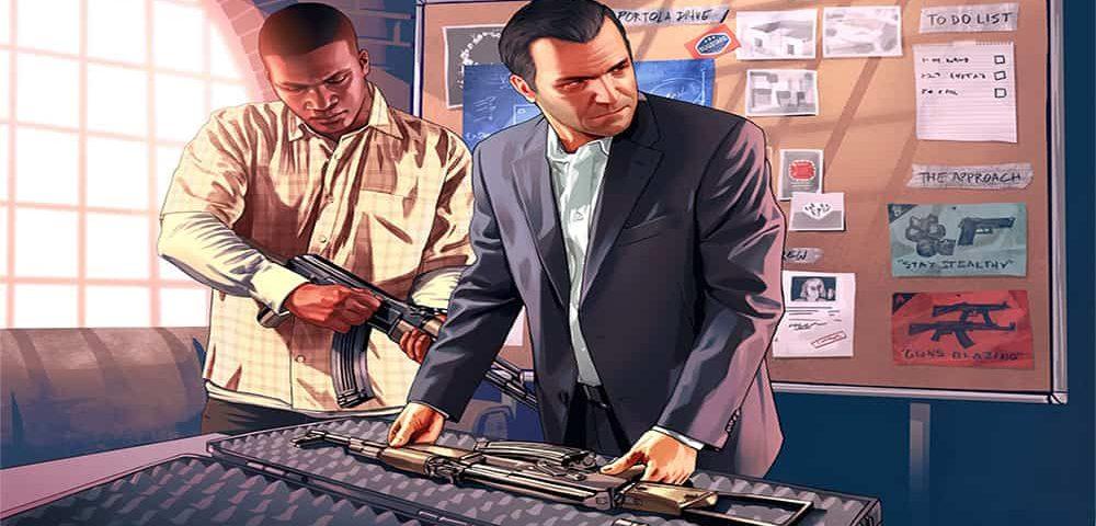 رمز های gta v برای PS4