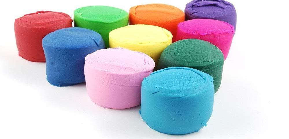 ساخت خمیر بازی کودکانه خانگی