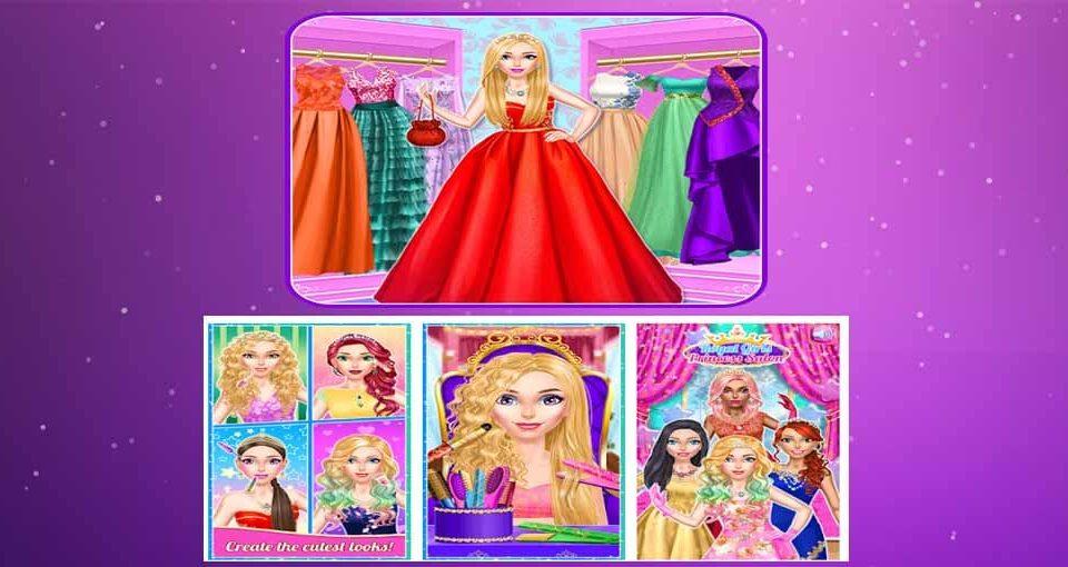 بازی دخترانه آرایشی سالن پرنسس