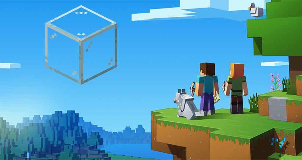 روش ساخت شیشه در بازی ماین کرافت