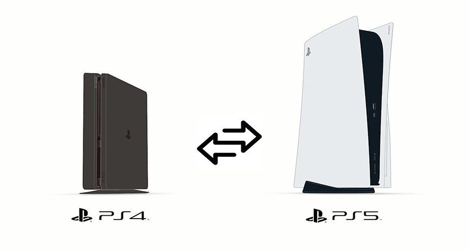 روش انتقال اطلاعات PS4 به PS5