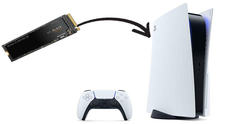 روش نصب SSD روی PS5