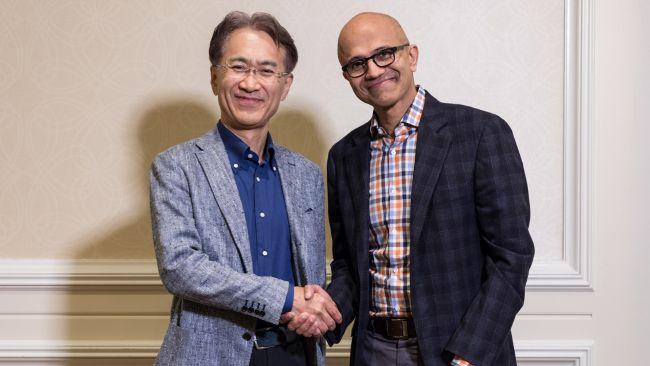 همکاری سونی و مایکروسافت