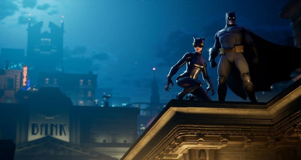 چلنج فورتنایت Welcome to Gotham City
