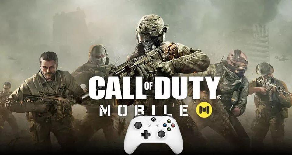 پشتیبانی دسته در Call of Duty موبایل