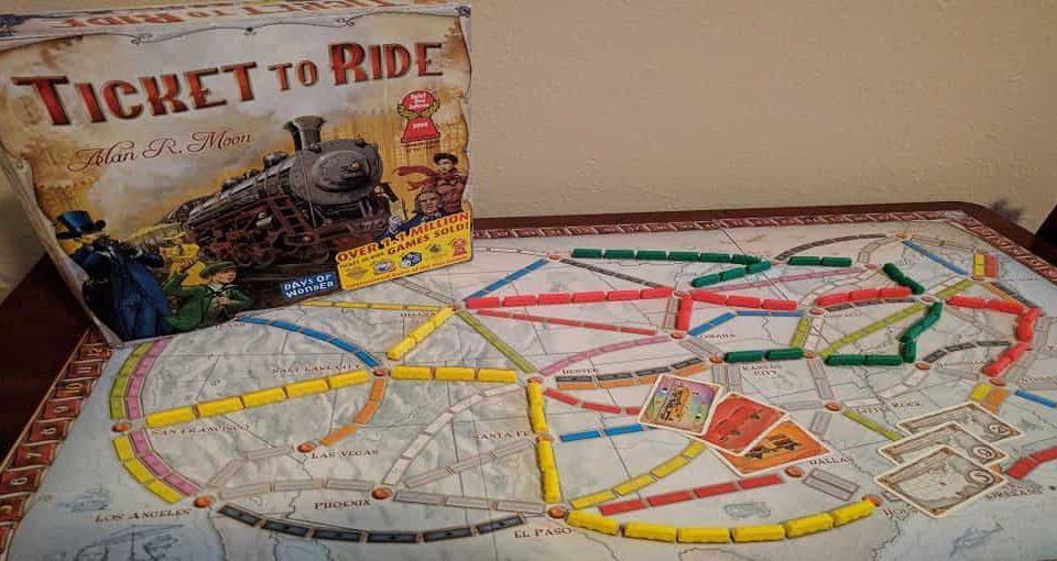 بازی رومیزی Ticket to Ride