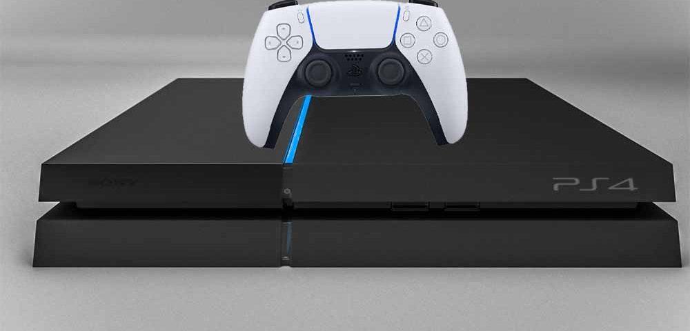 روش وصل دسته PS5 به PS4