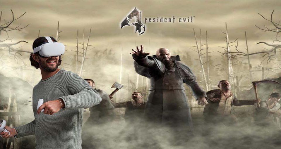 Resident Evil 4 نسخه VR معرفی شد