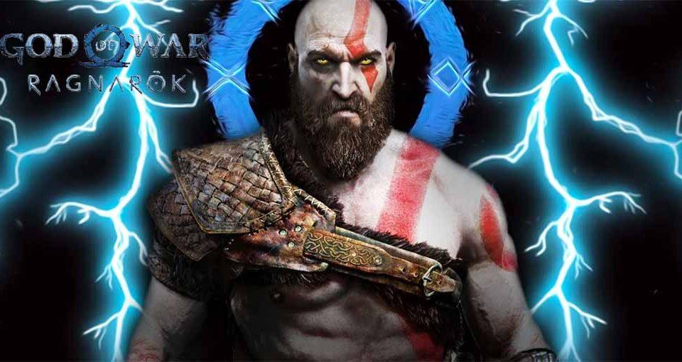 نام و لگو جدید God of War PS5